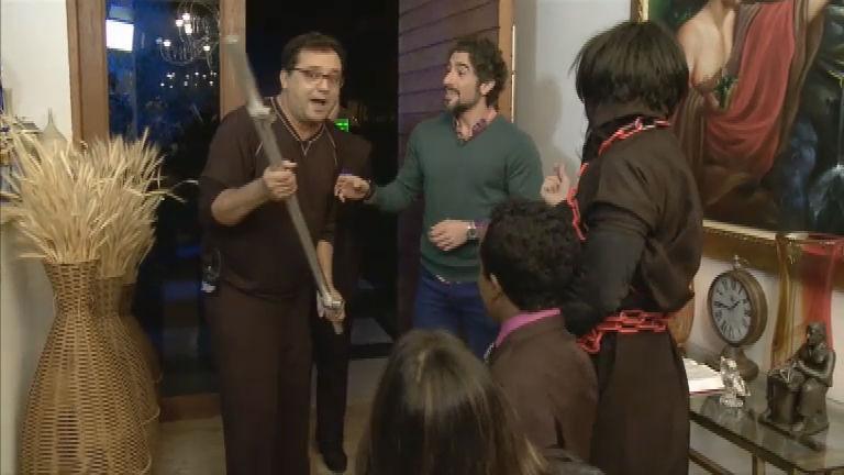 Legendários na Sua Casa visita o apresentador Geraldo Luís