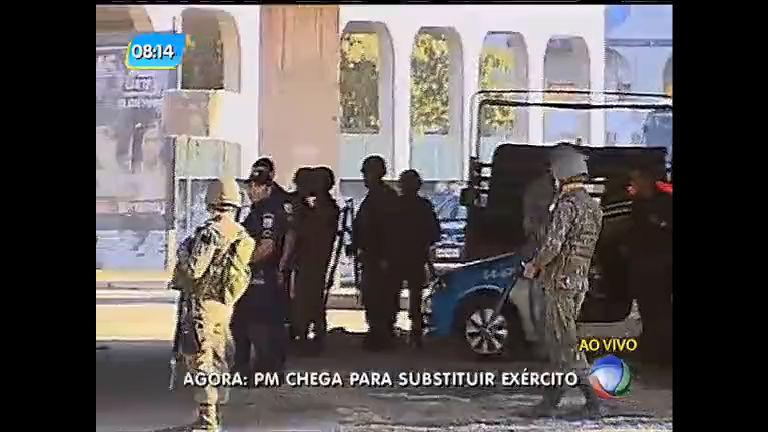 Força de Pacificação é substituída por PM no Complexo da Maré, zona norte do Rio