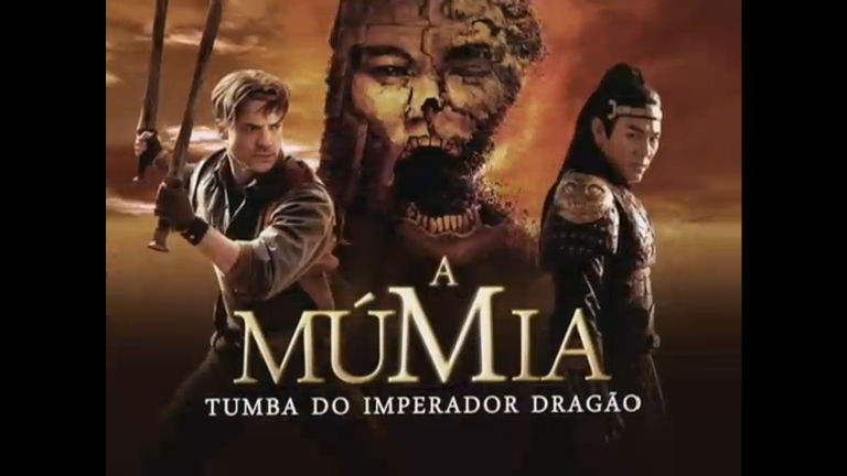 o filme a mumia a tumba do imperador dragao