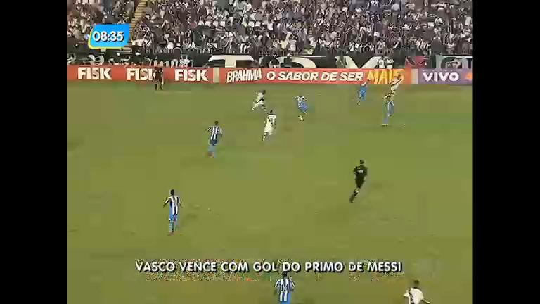 Flamengo sai da zona de rebaixamento e Vasco vence Avaí no Campeonato Brasileiro