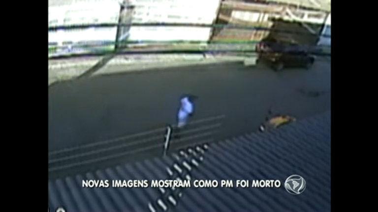 Novas imagens mostram assalto que deixou policial morto