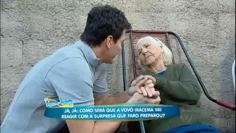 Com disposição de dar inveja, vovó Iracema recolhe lixo reciclável aos 86 anos