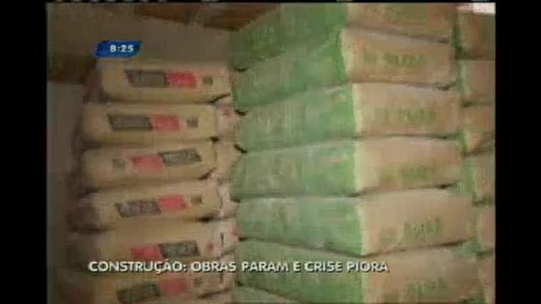 Crise afeta setor da construção civil em Belo Horizonte