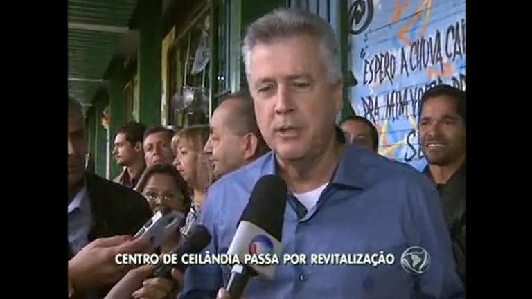 Centro de Ceilândia passa por revitalização e ambulantes são retirados