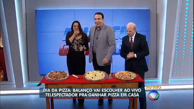 Dia da Pizza: Balanço Geral celebra o sabor do prato queridinho ...