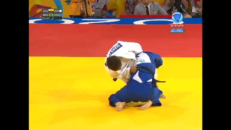 Natália Brigida garante o bronze para o Brasil no judô - Record ...