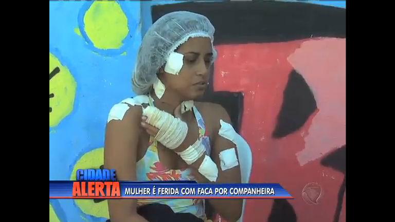 Mulher é atingida por golpes de faca pela companheira em Itaboraí ...