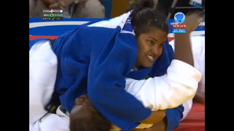 Maria Suelen derrota dominicana e garante mais um bronze para o ...