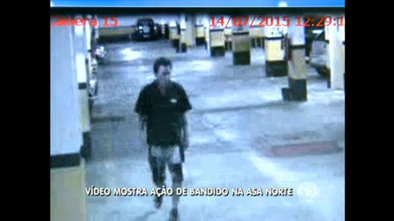 Polícia procura suspeito de tentar roubar bicicleta na Asa Norte