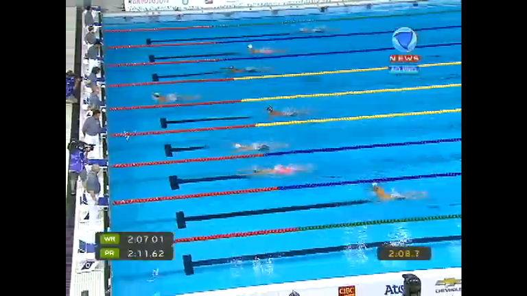 Brasil no pódio! Thiago Simon é ouro nos 200m peito e Thiago ...