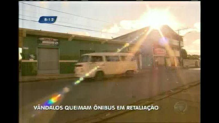 Ônibus são incendiados e quatro suspeitos presos em Sarzedo (MG)