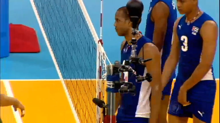 Em jogo de provocações, Brasil perde para Cuba no vôlei masculino