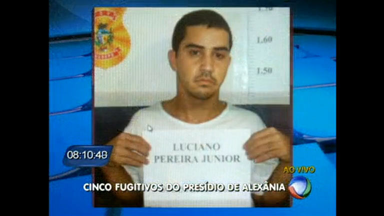 Cinco presos fogem de cadeia no Entorno do DF