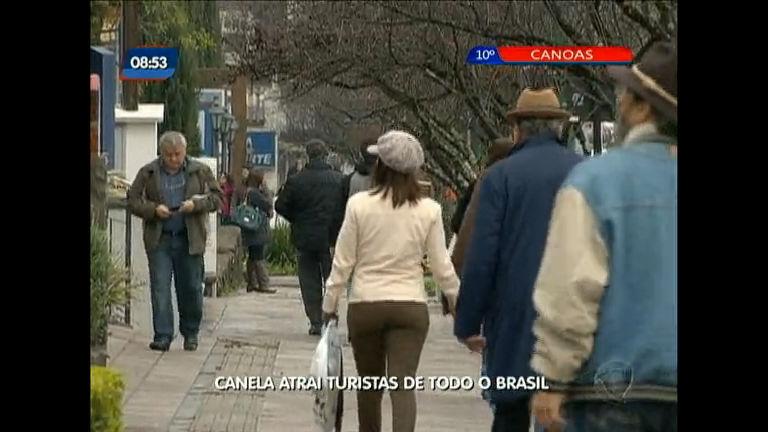 Canela atrai turistas de todo o Brasil