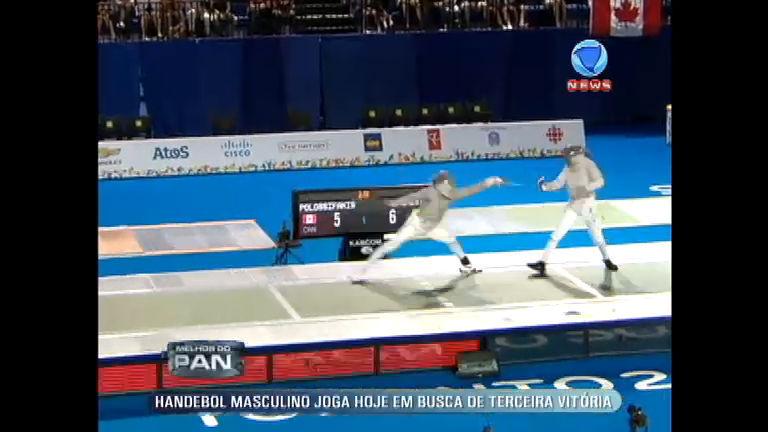 Melhor do Pan: Brasil conquista bronze no primeiro dia da esgrima ...