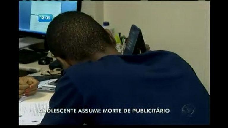 Adolescente assume morte de publicitário - Bahia - R7 Balanço ...