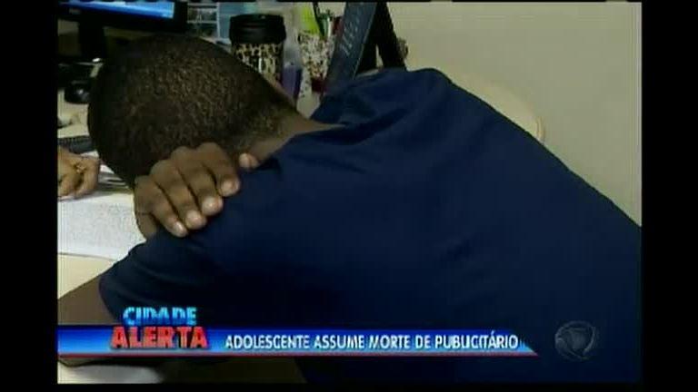 Adolescente assume morte de publicitário - Rede Record