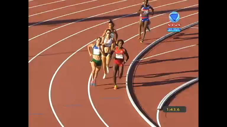 Flávia de Lima vence prova e garante Brasil na final dos 800 m ...