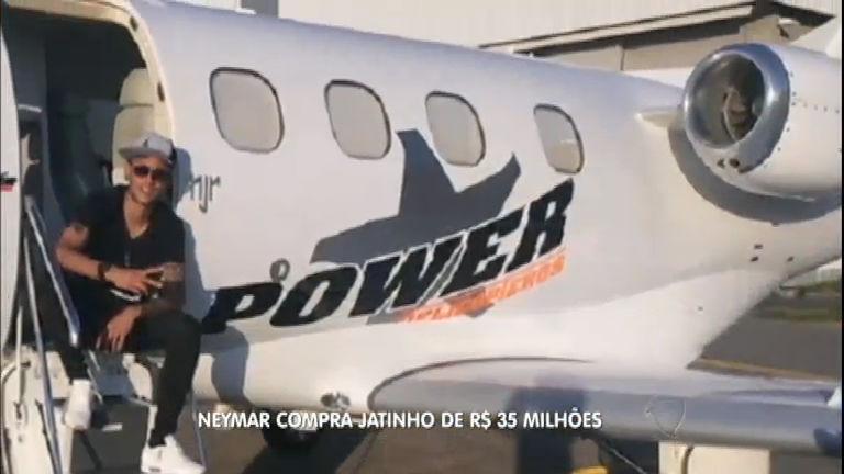 Notícias do Gugu: Neymar compra jatinho novo por R$ 35 milhões ...