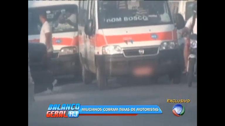 Flagrante: motoristas de vans são obrigados a pagar taxa para ...