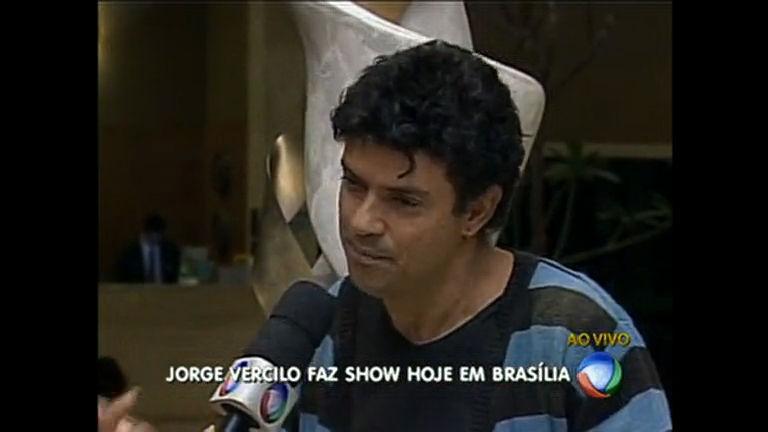 Jorge Vercillo faz apresentação única em shopping de Brasília
