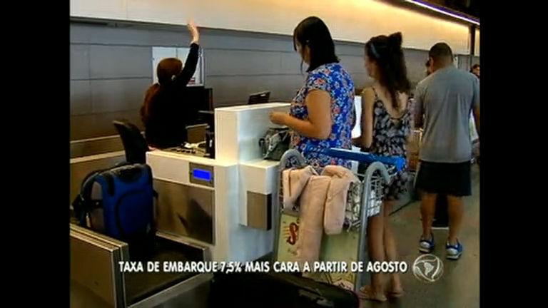 Taxa de embarque fica 7,5% mais cara no aeroporto de Brasília