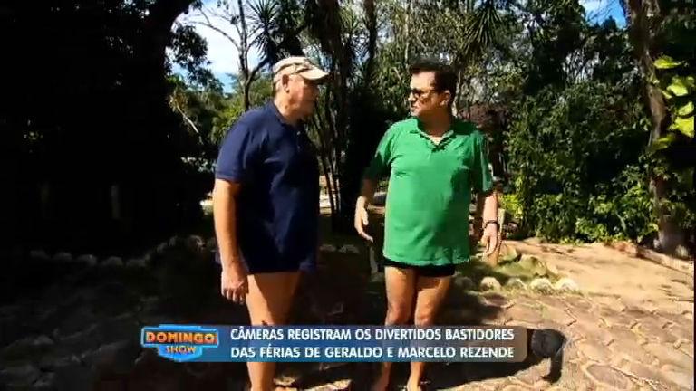 Geraldo Luís e Marcelo Rezende viajam juntos nas férias; veja o ...