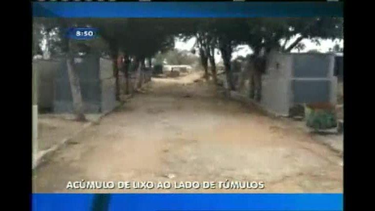 Acúmulo de lixo em cemitério revolta moradores de Divinópolis (MG ...