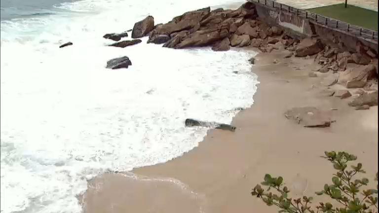Nova praia é descoberta no Rio após demolição de casa noturna ...