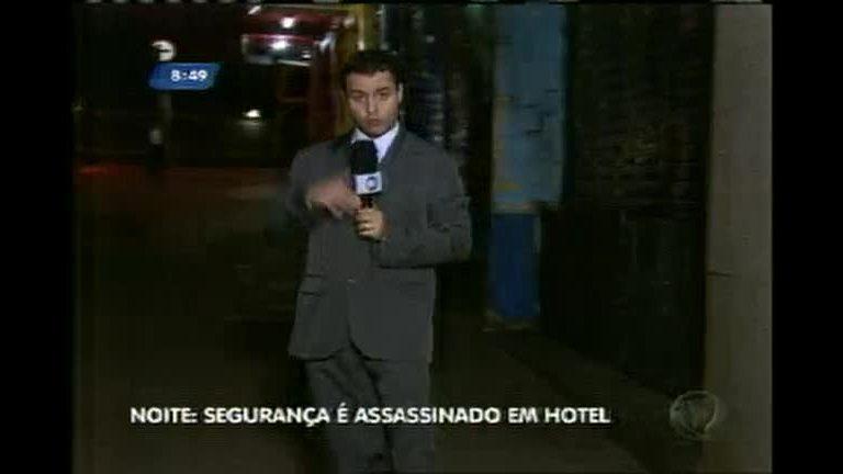 Segurança é morto a tiros em frente a hotel no centro de BH
