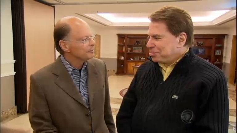 Silvio Santos visita Edir Macedo no Templo de Salomão - Notícias ...