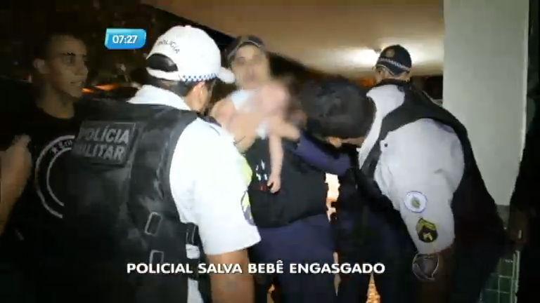 Policial militar salva bebê engasgado em Brasília ( DF) - Notícias ...