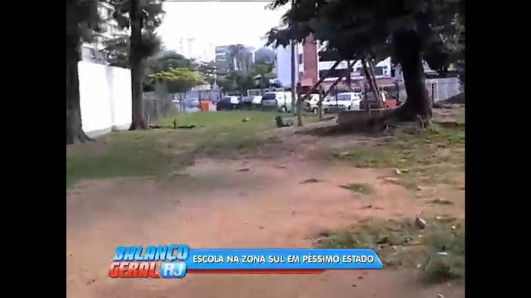 Pais reclamam de péssimo estado de escola municipal no Leblon ...