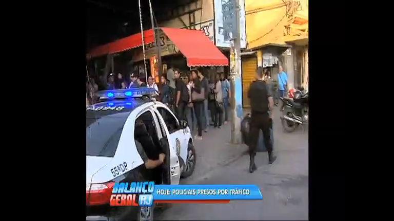 Presos policiais suspeitos de participar de esquema de tráfico de ...