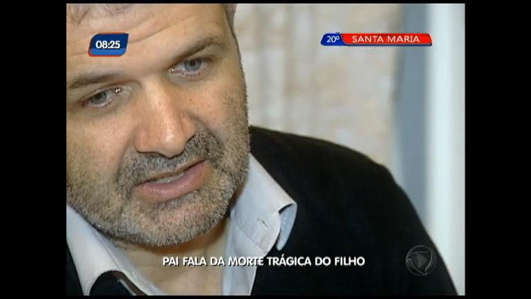 Pai fala da morte trágica do filho - Rede Record RS - R7 Rio Grande ...