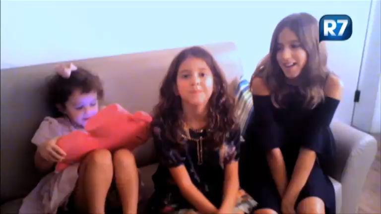 Exclusivo: filhas de Rodrigo Faro preparam surpresa de Dia dos Pais