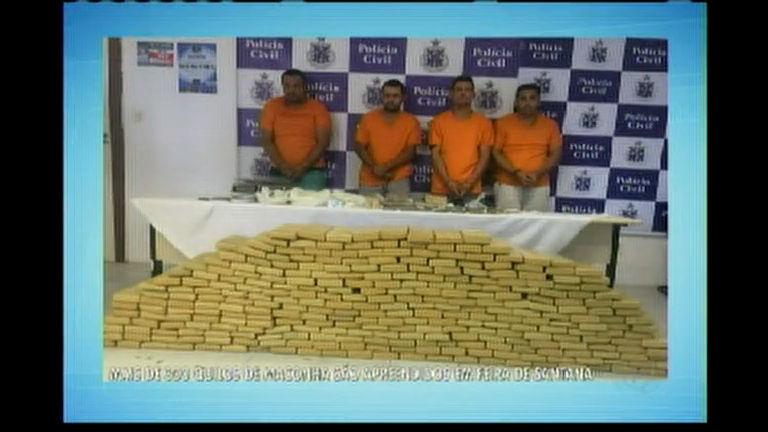 Mais de 300kg de maconha são apreendidos em Feira de Santana ...