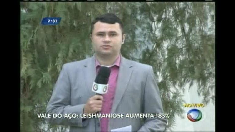 Casos de leishmaniose crescem quase 200% em Ipatinga (MG) - Minas Gerais -  R7 MG no Ar 9bfa59baebc23