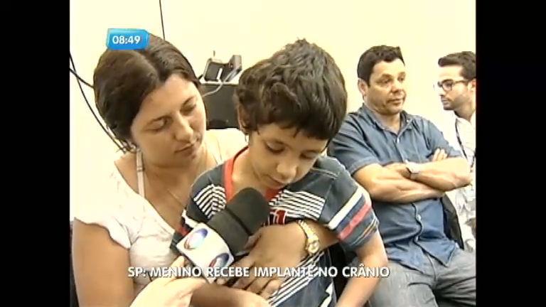 Menino de seis anos será submetido a implante de crânio em Botucatu (SP)