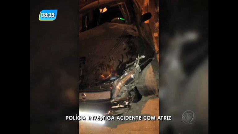 Acidente de Fabiana Karla é investigado; atriz pode ter fugido após ...