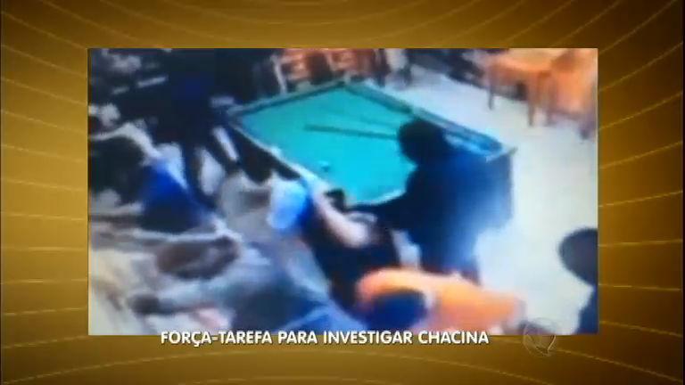 Câmeras de segurança registram chacina em bar de Barueri (SP ...