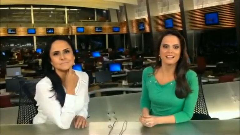 Apresentadoras do Fala Brasil aguardam ansiosas à estreia de ...