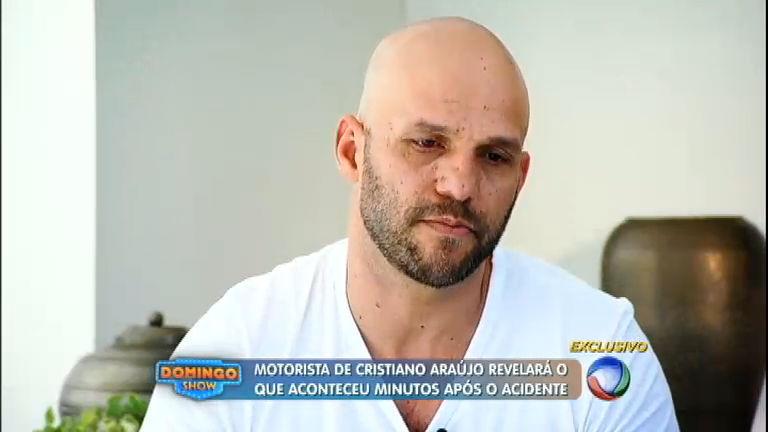Motorista de Cristiano Araújo confirma que havia solda em roda esportiva do carro