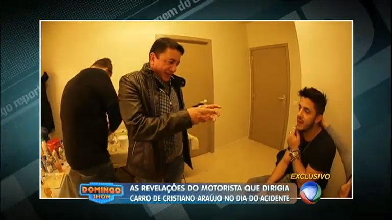 Motorista de Cristiano Araújo manda recado emocionante para o pai do cantor