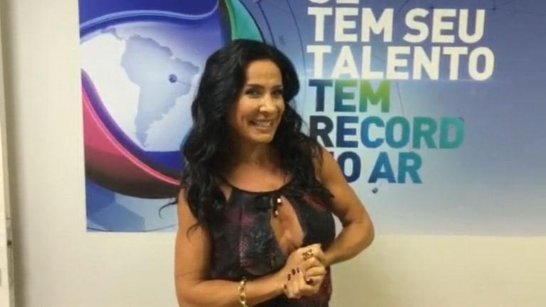Scheila Carvalho está animada com a estreia da Xuxa na Record ...