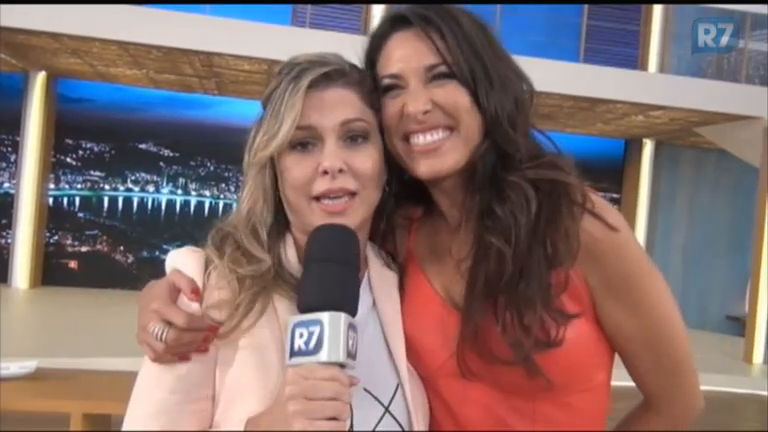 Atriz Giselle Itié fala da estreia do programa da Xuxa ...
