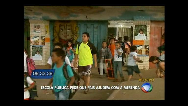 Escola de São Sebastião pede doações de temperos aos pais para a merenda dos alunos