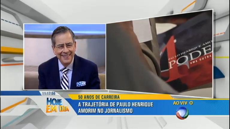 Paulo Henrique Amorim lança livro sobre ao completar 50 anos de jornalismo