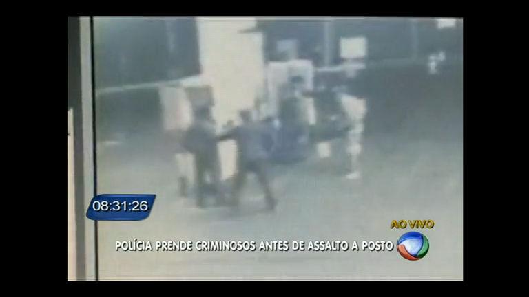 Polícia do DF flagra e impede assalto a posto de combustíveis na Estrutural