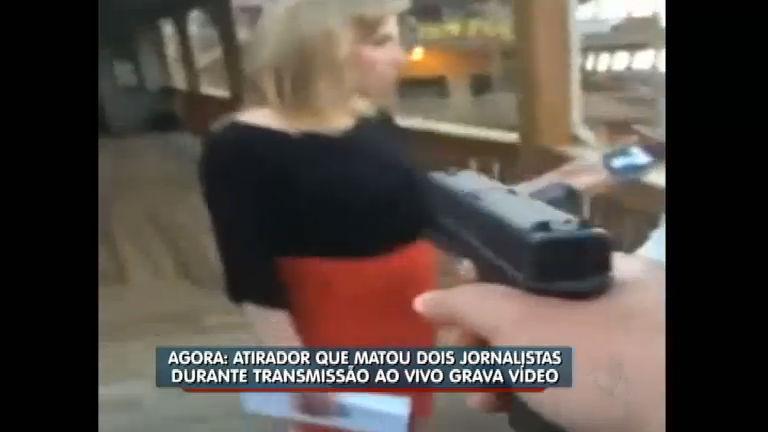 Atirador grava assassinato de repórter e cinegrafista e posta em ...